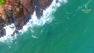 Raviz Kovalam Aerial view