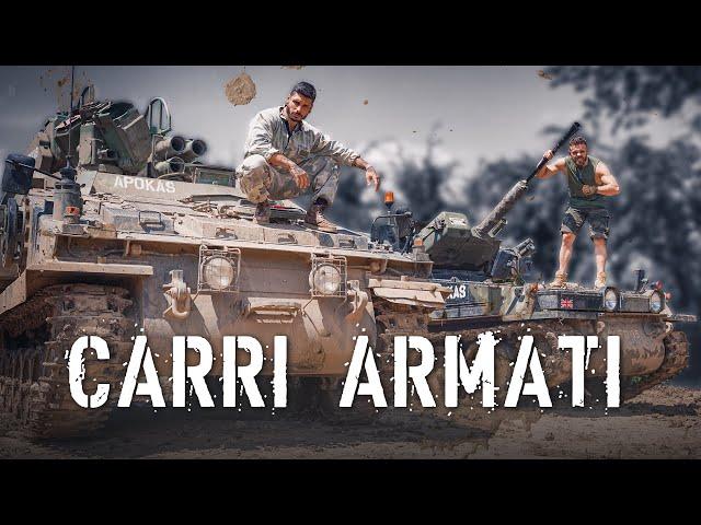 GUIDIAMO UN CARRO ARMATO IN GIRO PER MILANO