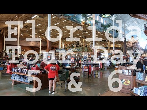 Florida Tour 2017 - Day 5 & 6 of 22 Days - Miromar Outlets Estero - Fort Myers