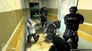 Most Realistic Game about Police Special Forces ! Tactical Simulator on PC SWAT 4