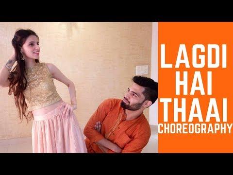 LAGDI HAI THAAI   WEDDING CHOREOGRAPHY   MDFC   HIMANSHU BUNDELA   SIMRAN