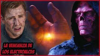 Confirmado Cómo el Capitán América Regresó la Gema del Alma con Red Skull en Avengers Endgame