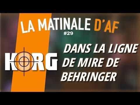 Behringer a encore frappé - LA MATINALE D'AF #29
