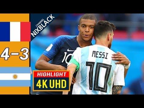 🔥 Франция - Аргентина 4-3 - Обзор Матча 1/8 Финала Чемпионата Мира 30/06/2018 HD 🔥
