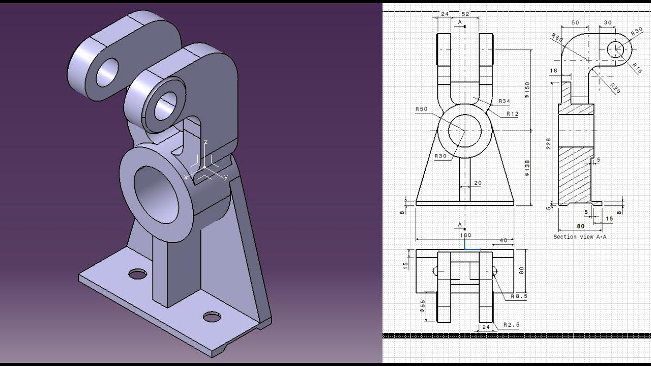 catia training part design  u0026 drafting 31