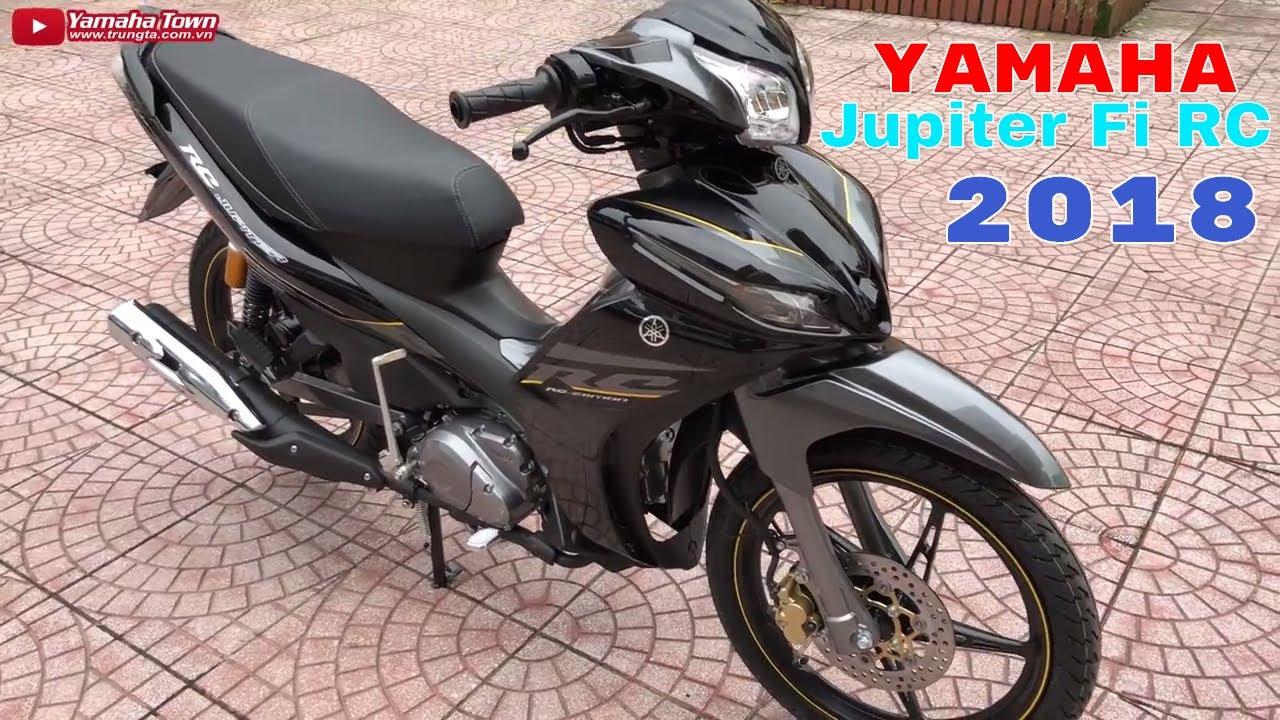 Yamaha Jupiter Fi RC 2018 Đen Xám ▷ Đánh giá chi tiết