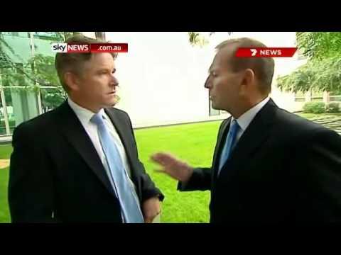 Tony Abbott  - 'S--t happens'
