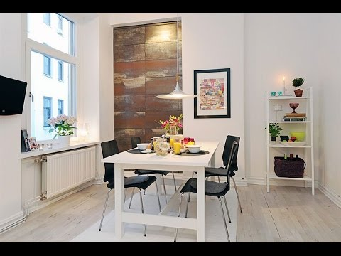 Apartment Interior Design Ideas : Scandinavian Design : Bright And Cozy  Small Apartment In Sweden