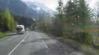 Mont Blanc tunnel.