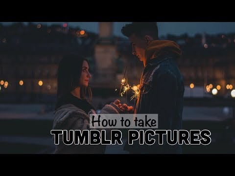 How to take TUMBLR Pictures/ MissNici