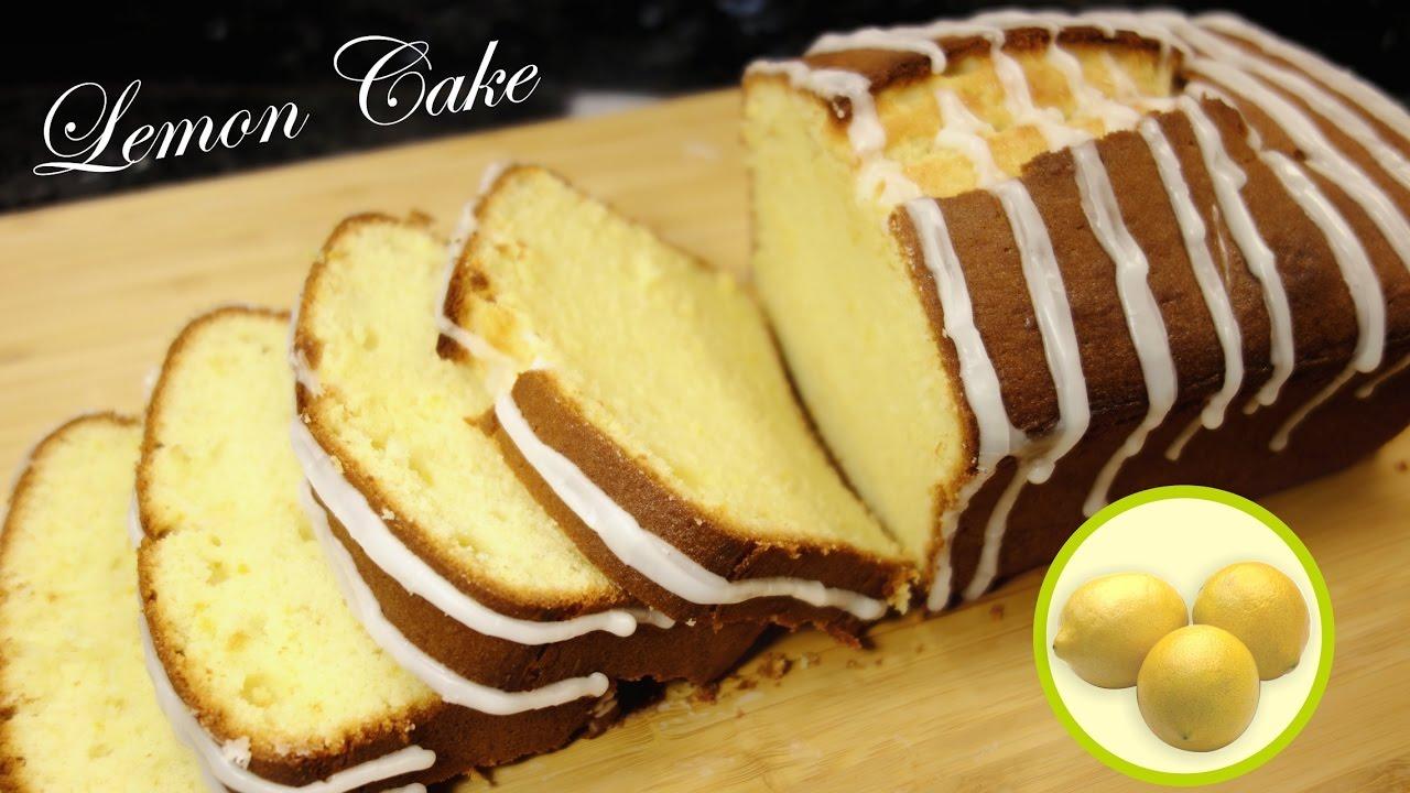 Lemon Pound Cake 檸檬磅蛋糕 Youtube