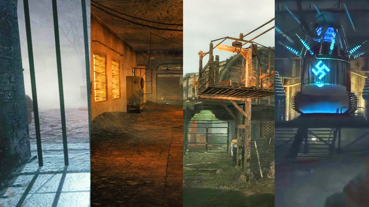 ALL WAW ZOMBIE MAPS IN ONE STREAM (Call of Duty: Zombies)
