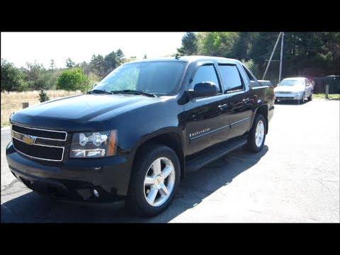 2007 Chevrolet Avalanche Lt Start Up Engine Review Youtube