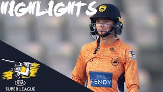 Danni Wyatt hits 50 in Tense Victory | Vipers vs Diamonds | Kia Super League 2019 - HIGHLIGHTS