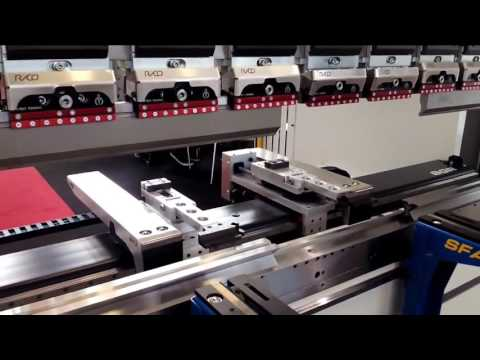 Rico PRCN Press Brake in Czech Republic MSV 2016