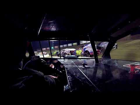In Car cam of Billy Knebel jr at Belle-Clair Speedway 10-13-19