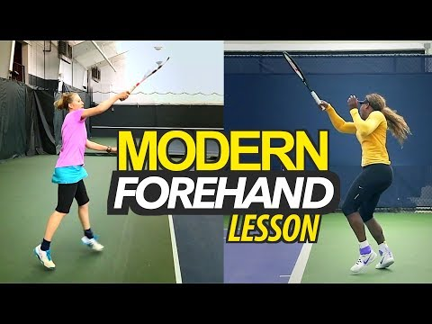 CLASSIC to MODERN Forehand: Tennis Lesson