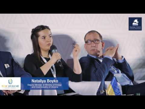 Panel ENERGY SECTOR (OIL, GAS, ELECTRICITY, ALTERNATIVE) at New Ukraine 2017 [EN]