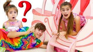 Nastya y Artem perdieron a Mia   una historia misteriosa para los niños