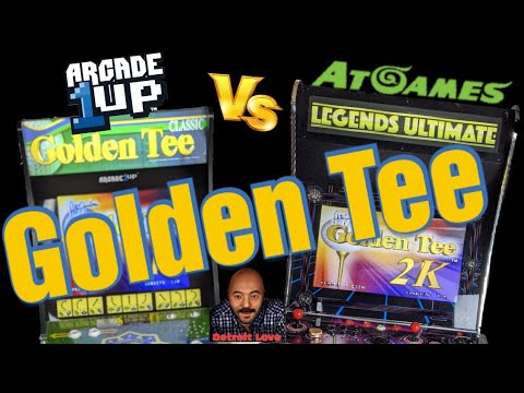 Golden Tee 2K on Arcade1UP VS Golden Tee 2K on Legends Ultimate from Detroit Love
