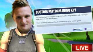 CUSTOM MATCHMAKING! WIN FORTNITE ACCOUNT!! Tournament//1200 + WINS//[DANSK FORTNITE]
