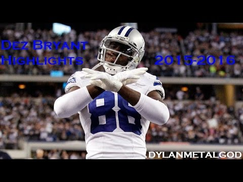 Dez Bryant Highlights 2015-2016