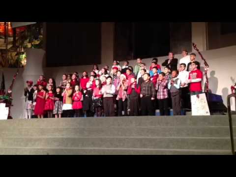 2012 Santa Fe Springs Christian School Christmas play