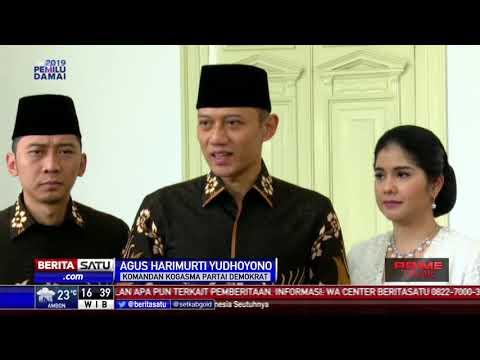 AHY Dan Ibas Hadiri Open House Presiden Jokowi