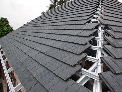 6 Macam Material Atap Rumah Modern  YouTube