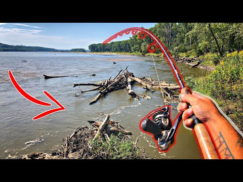 Fishing BIG RIVERS/CREEKS After HISTORIC Floods!!!