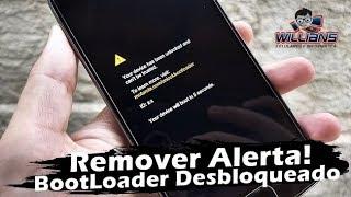 Como Remover  tela de Desbloqueio De Bootloader Motorola Moto G, Moto E, Moto X