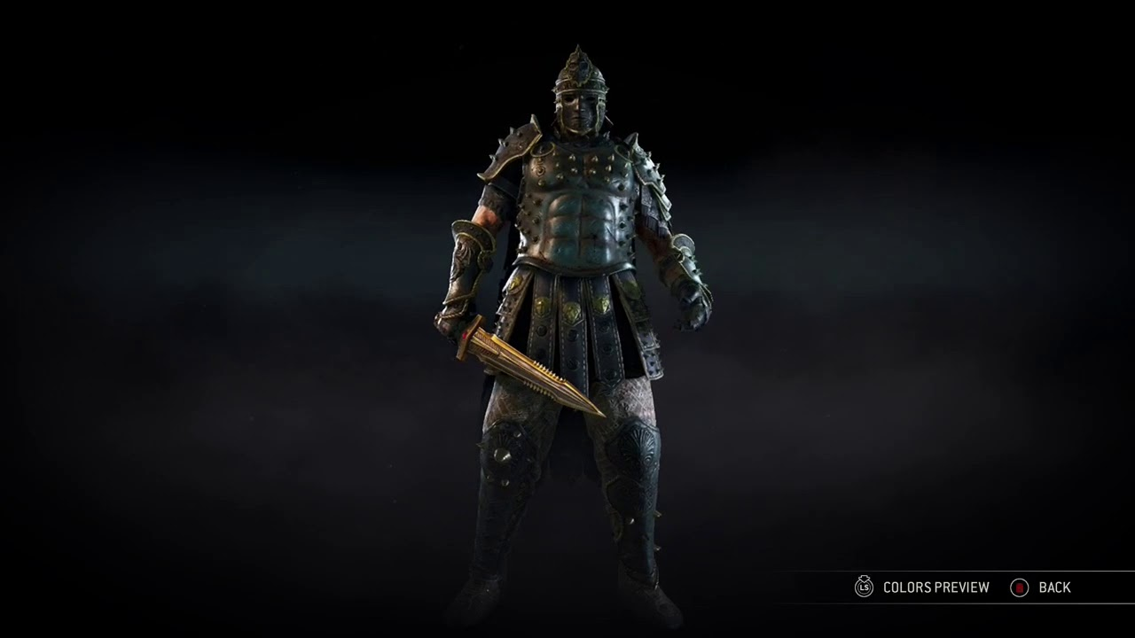 For Honor Full Apollyon Event Armor Set Centurion Youtube Mouse