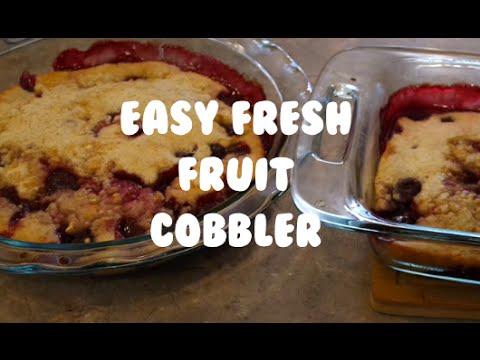 Download Easy Fresh Fruit Cobbler