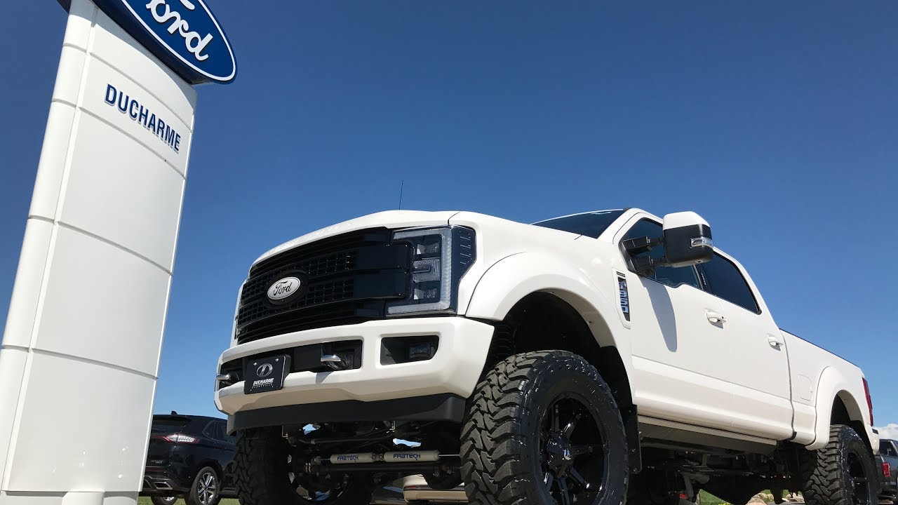 Custom 2017 Superduty F 350 Platinum Ducharme Motors