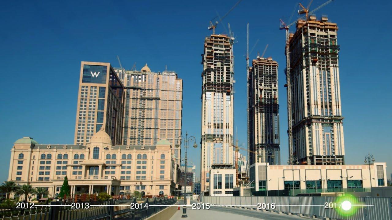 Al Habtoor City Construction Progress Time