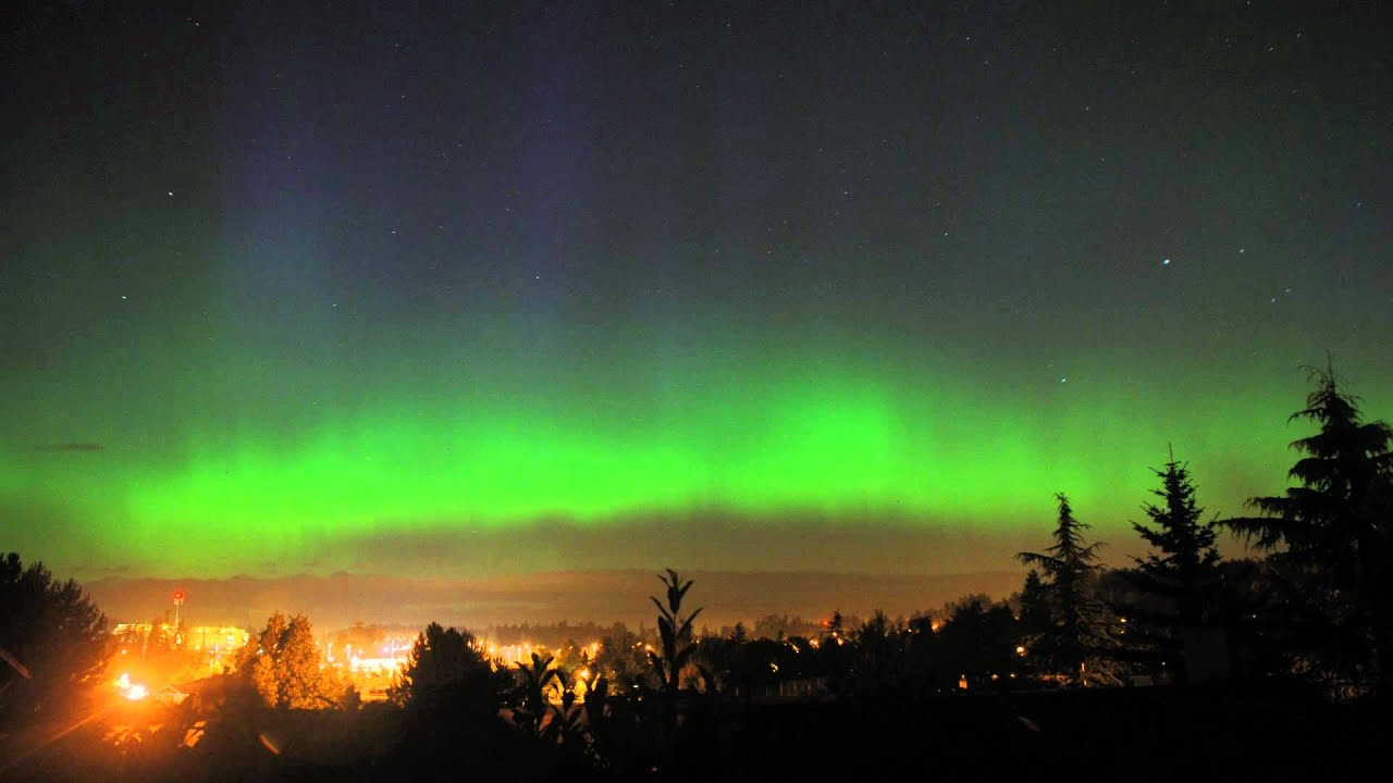 Northern Lights, Victoria, BC, Canada - July 15, 2012