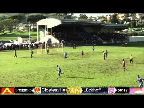 Cloetesville vs Lückhoff soccer 2014