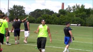 Eastchester Flag Football Semifinals: Neon Knights 45 Chaos 41
