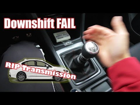STI Short throw shifter almost KILLS me || Money Shifting the 2018 WRX?!