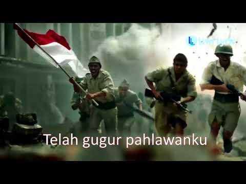 Lagu Gugur Bunga + Lirik - Wajib Nasional Ciptaan Ismail Marzuki