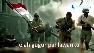 Video Lagu Gugur Bunga + Lirik - Wajib Nasional Ciptaan Ismail Marzuki download MP3, 3GP, MP4, WEBM, AVI, FLV September 2018