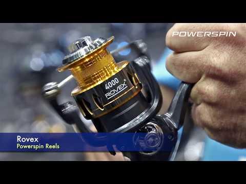 New Rovex Powerspin Reels - AFTA 2019
