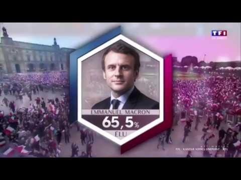 Résultat second tour présidentielle 2017 - TF1