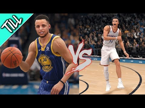 NBA LIVE 18 The One - BAPE Day 2 Crate, OKC vs Golden State