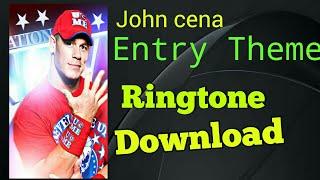 John cena Entry theme Ringtone Download here || Rihan mansoori