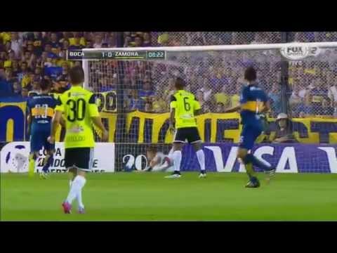 Boca Juniors 5 – 0 Zamora - Fase de Grupos Copa Libertadores 2015