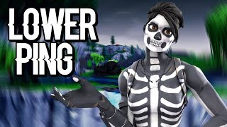 How To Lower Your Ping In Fortnite PS4! (WORKING!)