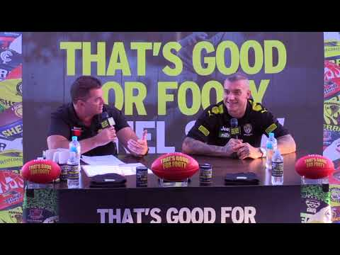 "Footy show ""That's Good for Footy"" presents Dustin Martin LIVE Feb 17th"