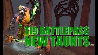 Dota 2 Taunts - TI9 Battle Pass / dota / InfiniTube