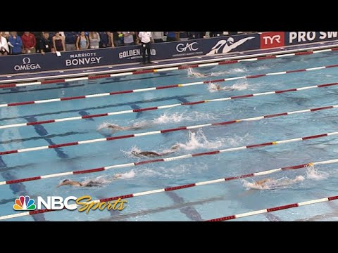 Katie Ledecky, Simone Manuel meet in TYR Pro Swim Series 200m freestyle | NBC Sports 1